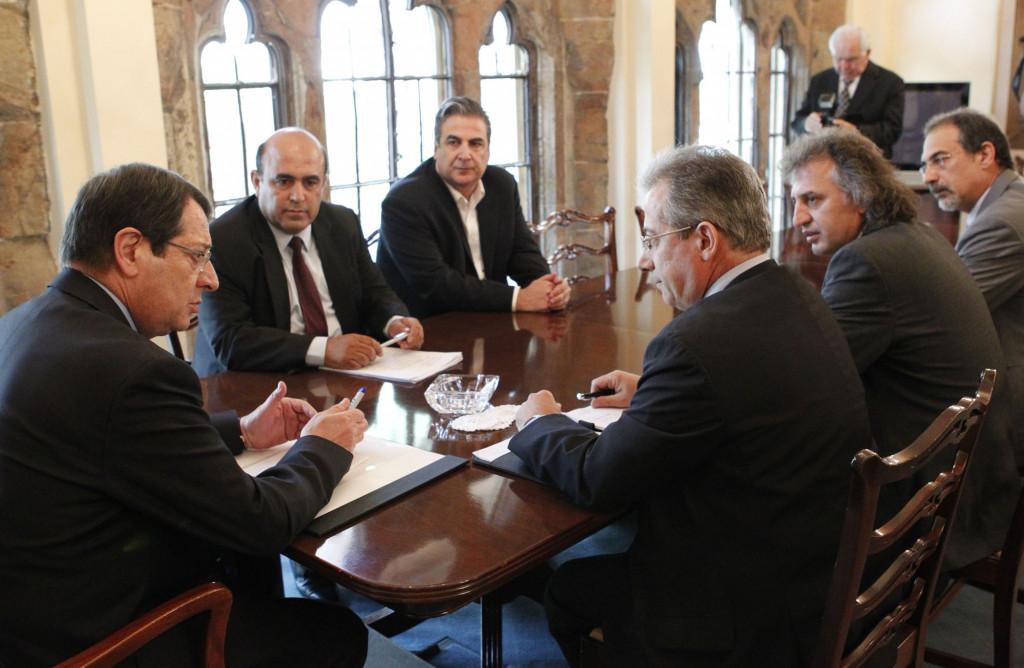 Εποικοδομητική συνάντηση ΕΤΕΚ με τον Πρόεδρο της Δημοκρατίας