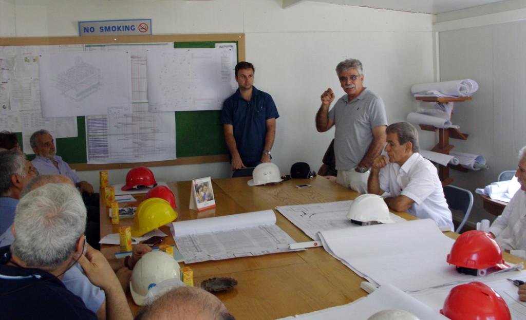 Επίσκεψη ΕΤΕΚ στο Δημοτικό Θέατρο και Βιβλιοθήκη Λεμεσού