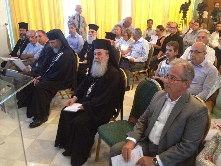 Πραγματοποιήθηκε διεθνές συμπόσιο Κύπρου-Ελλάδας-Ισραήλ: «Αναστήλωση και συντήρηση θρησκευτικών μνημείων και τόπων λατρείας»
